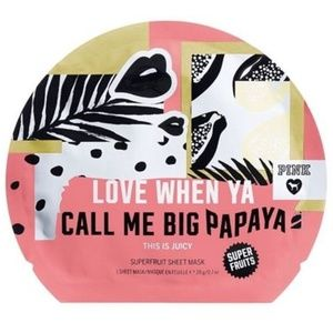 "VS ""LOVE WHEN YA CALL ME BIG PAPAYA"" Face Mask NEW"